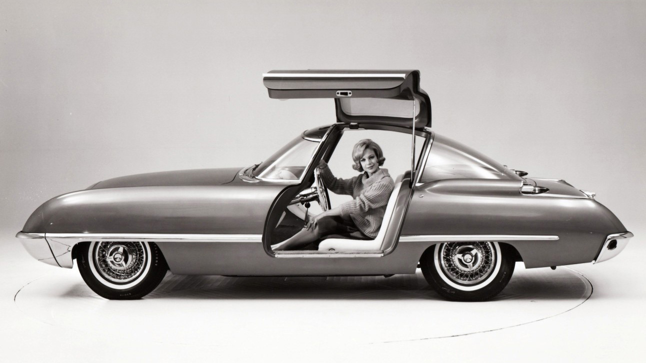 Ford Cougar 406 1962 concept 1