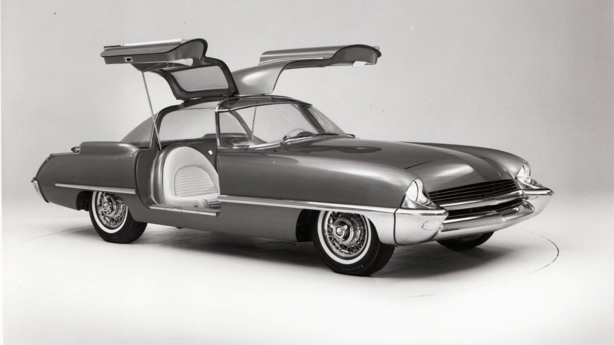 Ford Cougar 406 1962 concept 2