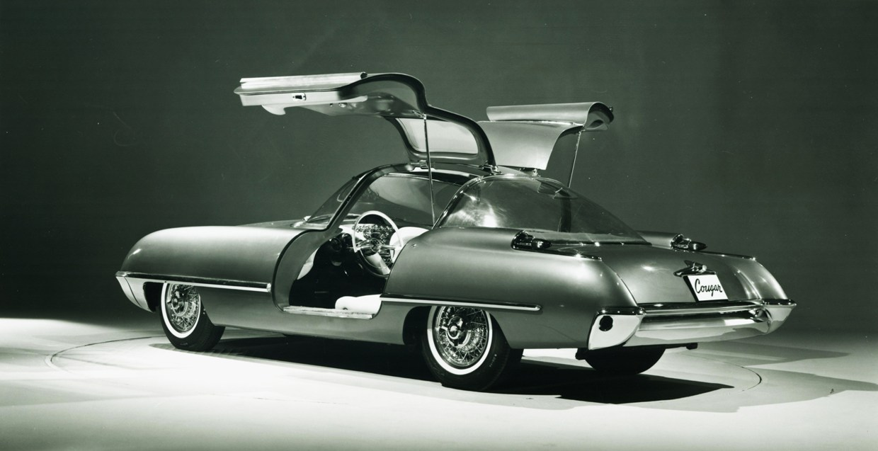Ford Cougar 406 1962 concept 3