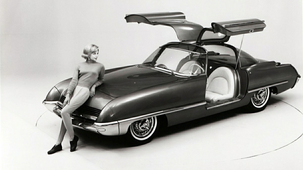 Ford Cougar 406 1962 concept 6