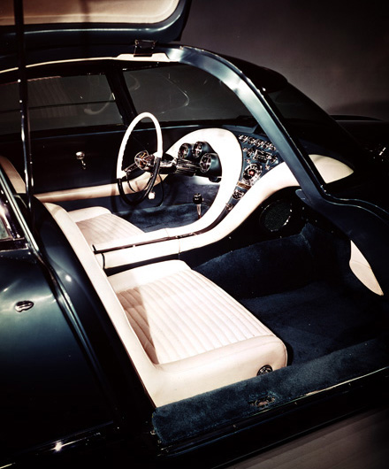 Ford Cougar 406 1962 concept interieur