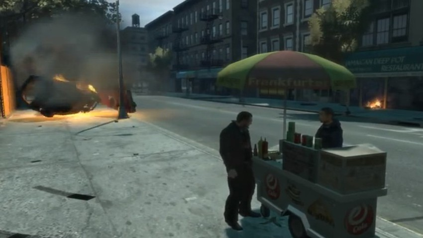 Frictionless Cars in GTA IV
