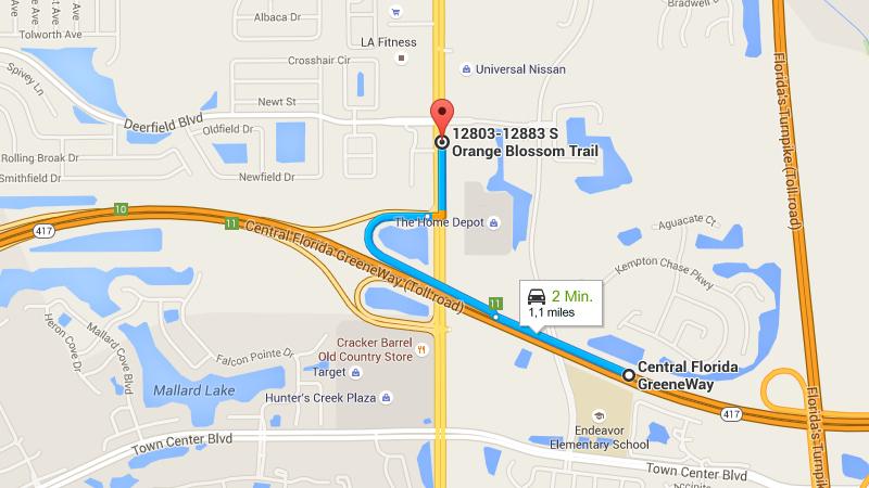 google maps florida