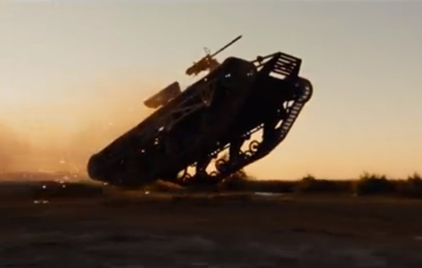 Howe-and-Howe-Technologies-Ripsaw-Mad-Max-Fury-road-Peacemaker Chrysler Valiant Charger GI Joe The Rock