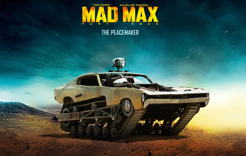 Howe-and-Howe-Technologies-Ripsaw-Mad-Max-Fury-road-Peacemaker Chrysler Valiant Charger GI Joe The Rock  2