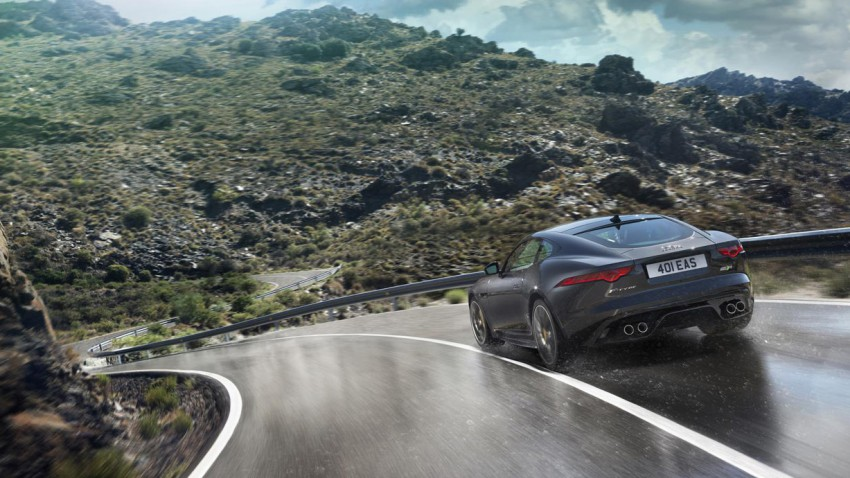 Und jetzt mal 4: Jaguar F-Type S AWD Coupé