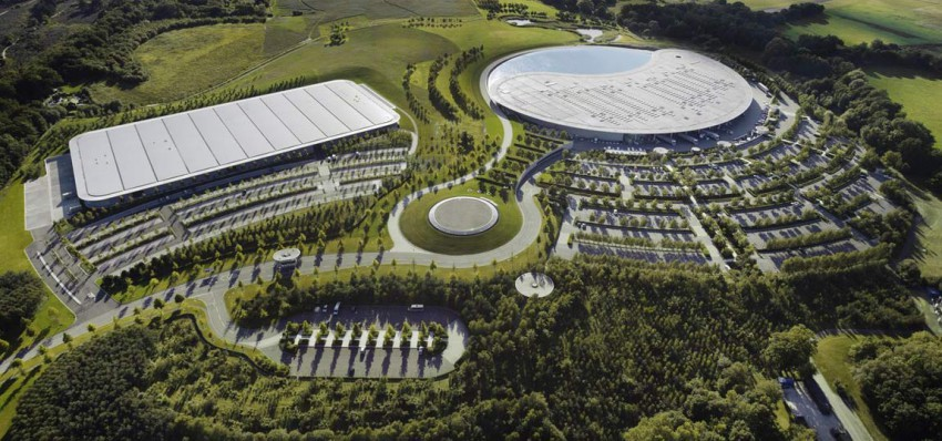 McLaren-Zentrale-in-Woking