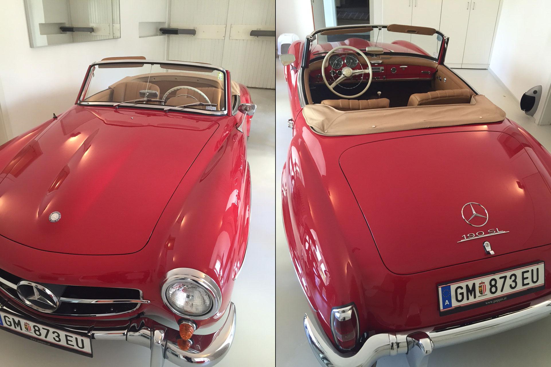 Mercedes-Benz 190 SL 1960 zu verkaufen