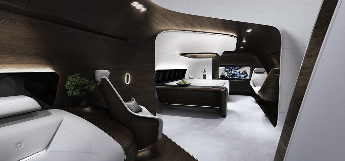 Mercedes und Lufthansa: Die VVIP-Kabine