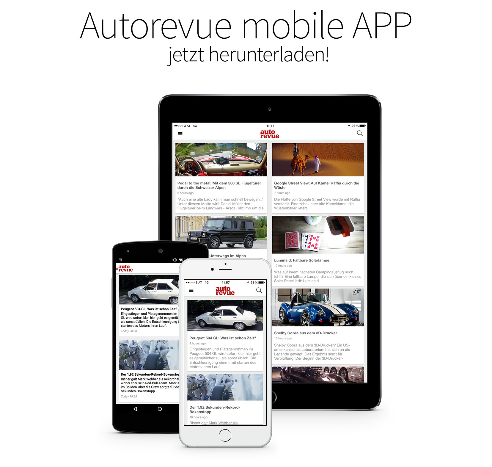Autorevue Mobile App