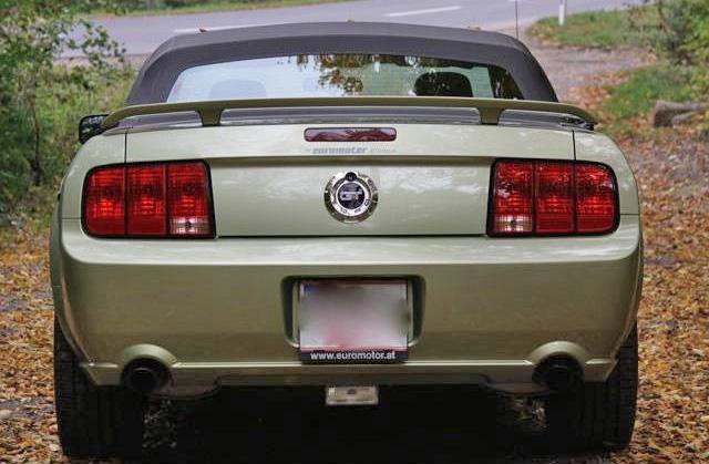 mustang-gt v8 cabrio 2006 zu verkaufen 1