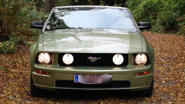 mustang-gt v8 cabrio 2006 zu verkaufen 4