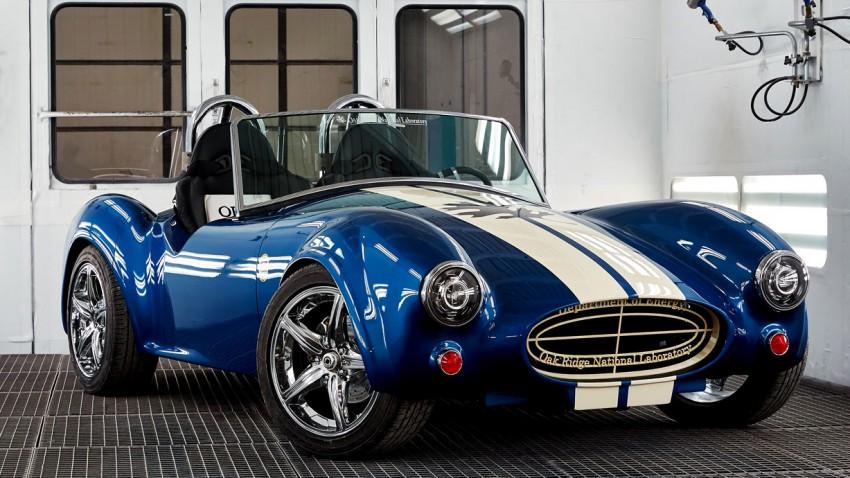 Shelby Cobra aus dem 3D-Drucker