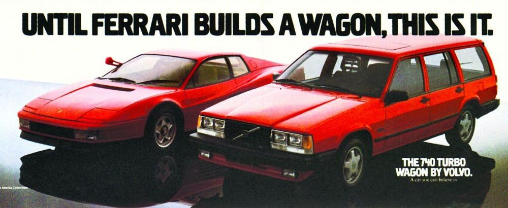 volvo 740 turbo wagon add