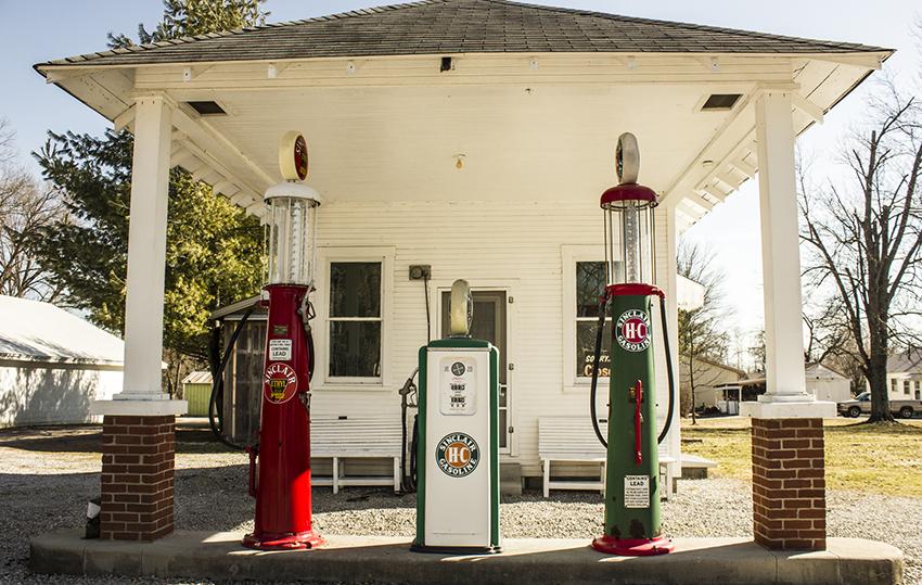 Die schönsten Tankstellen: Familienausflug an die Zapfsäule