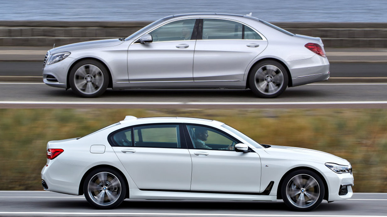 Luxusduell 7er Bmw Gegen Mercedes S Klasse Autorevue At