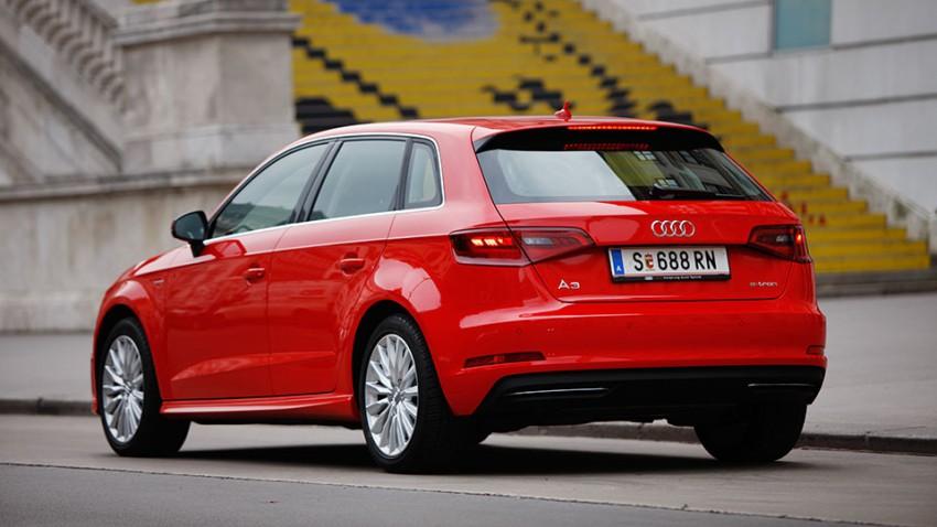 Tanke doch, wie du willst: Audi A3 e-tron
