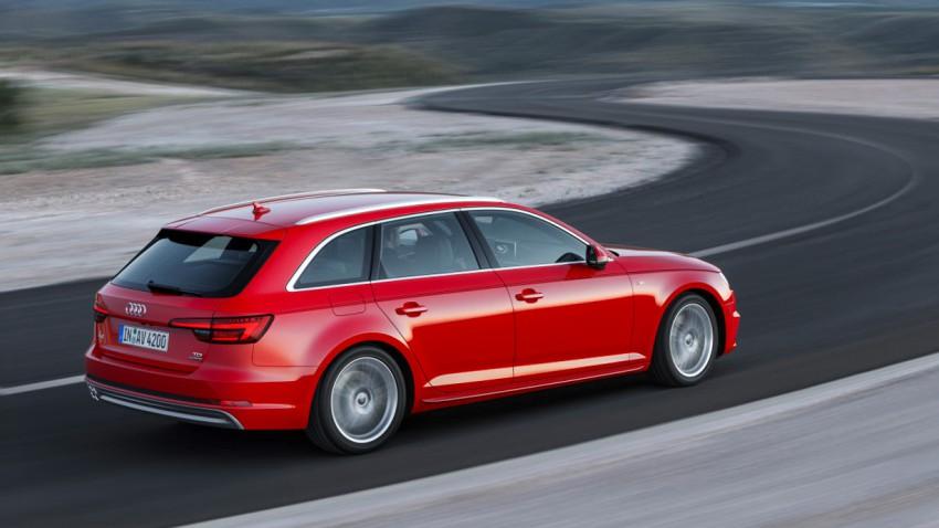 So sieht der neue Audi A4 aus