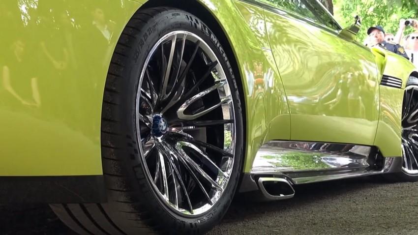BMW 3.0 CSL Hommage: Motorsound