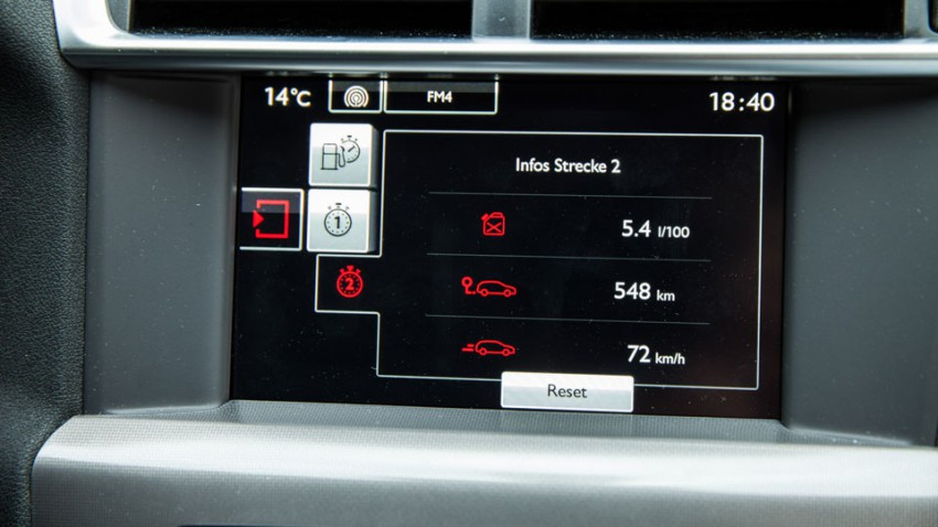Citroen C4 2015 Facelift display bordcomputer