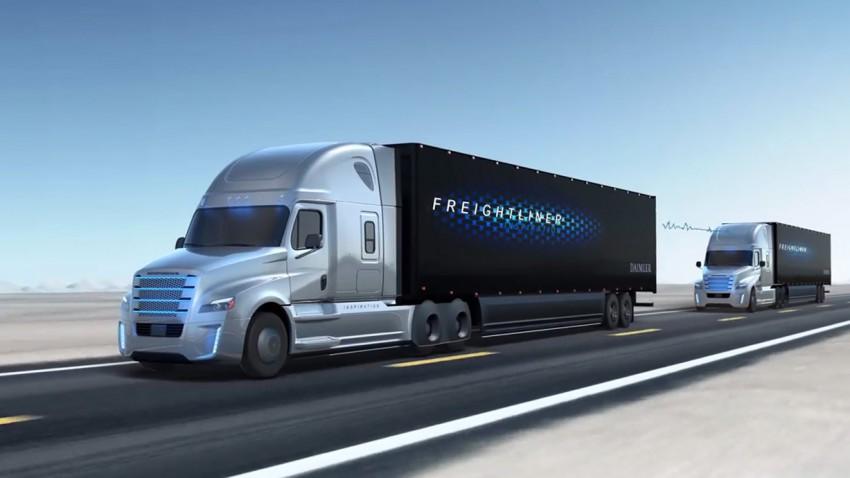 Autobahn für selbstfahrende Trucks durch Nordamerika geplant