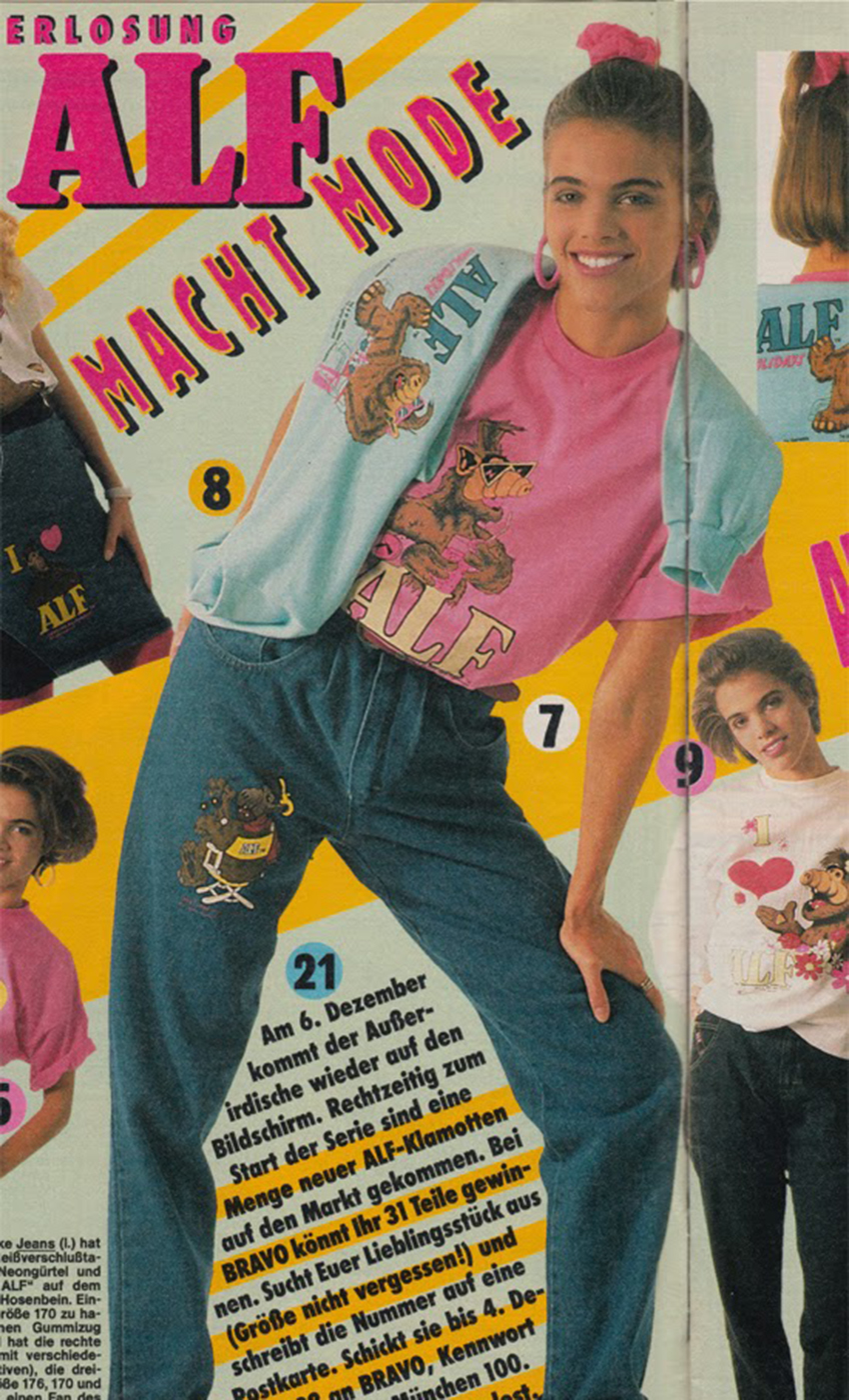 Mad Max Fury Road 80er Jahre Eightys Alf Klamotten Mode Kollektion 02