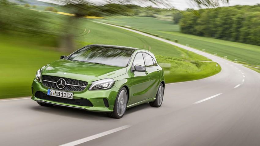 Besser spät als gar nicht: Mercedes A-Klasse Modellpflege