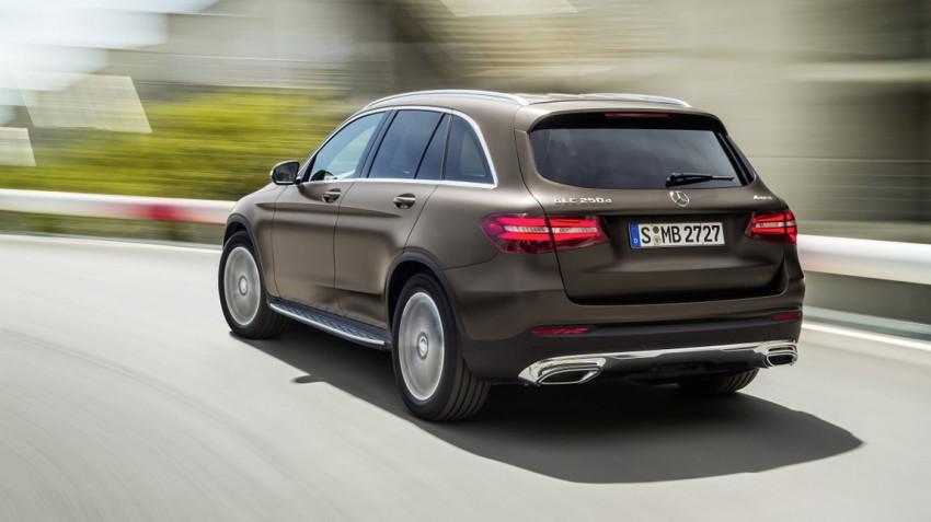 Mercedes-Benz GLC 250d 4MATIC, CITRINBRAUN MAGNO, Offroad Line Exterieur