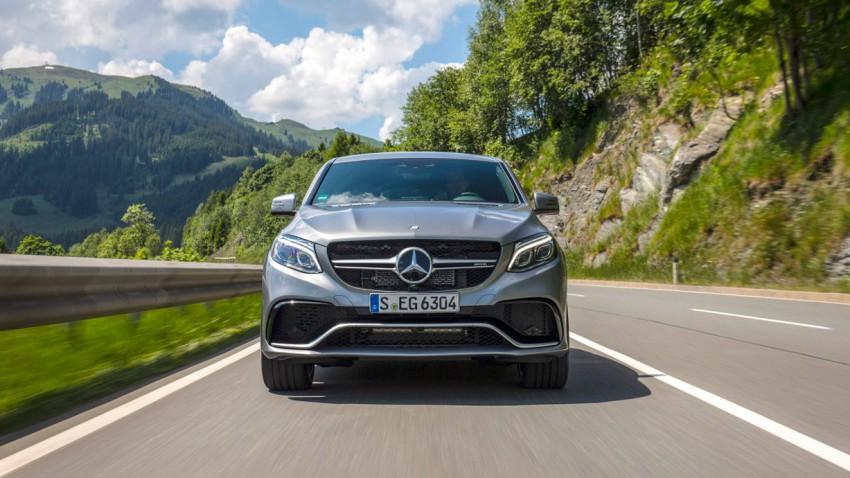 SUV-Coupé, jetzt auch von Mercedes
