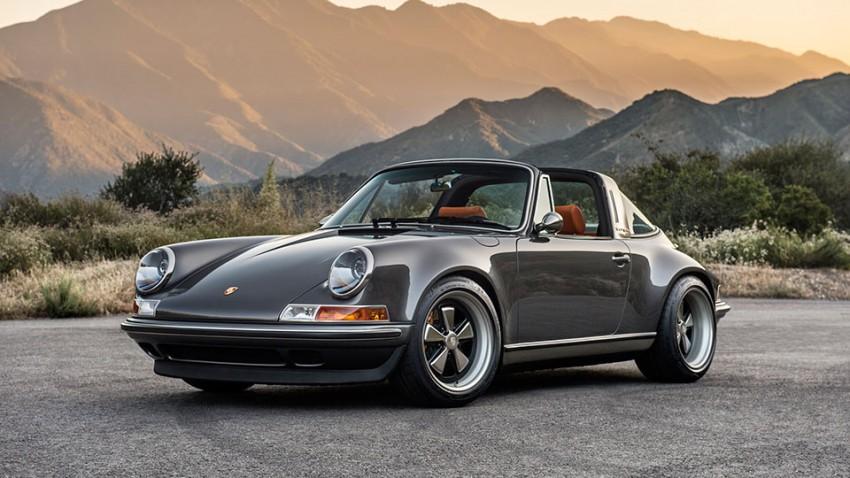 Wenn Singer an einen Porsche 911 Targa gelassen wird