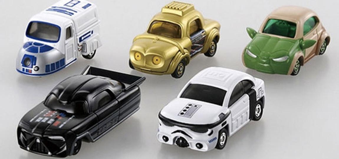 Tomica Star Wars Spielzeugautos-01