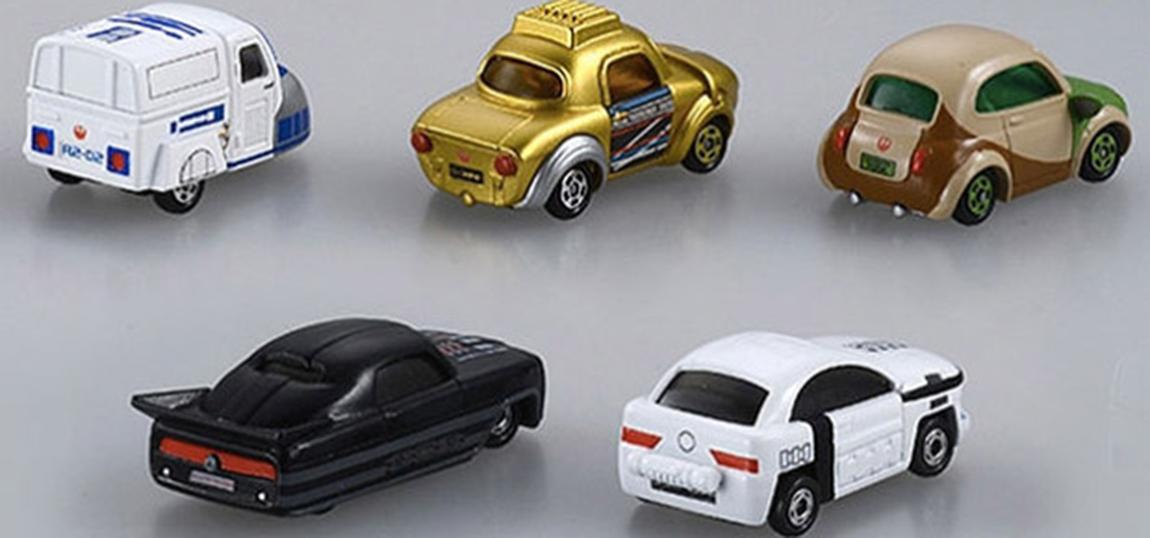 Tomica Star Wars Spielzeugautos-02