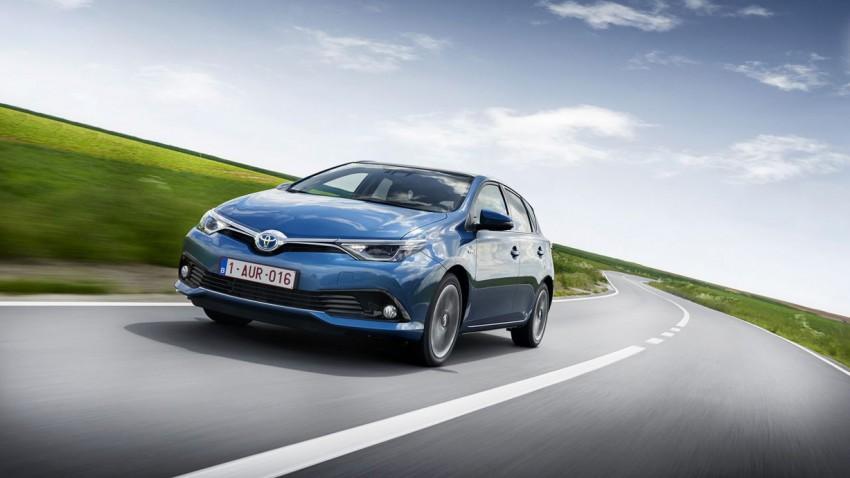 Facelift lässt das Gehirn des neuen Toyota Auris wachsen