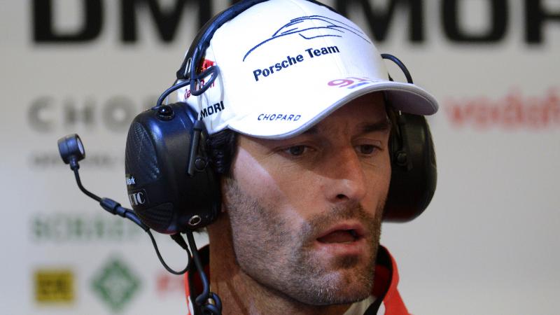 Ex-F1-Pilot Webber in Le Mans