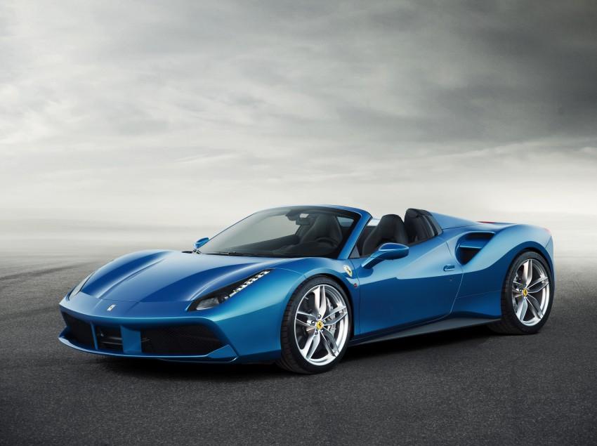 150728_The Ferrari 488 Spider_FrontAngle