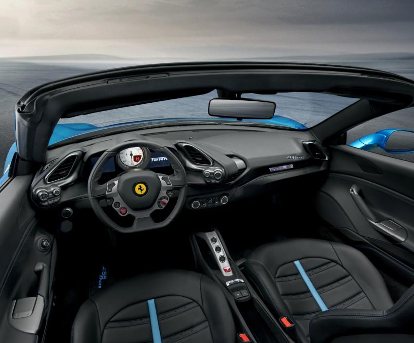 150728_The Ferrari 488 Spider_Interior
