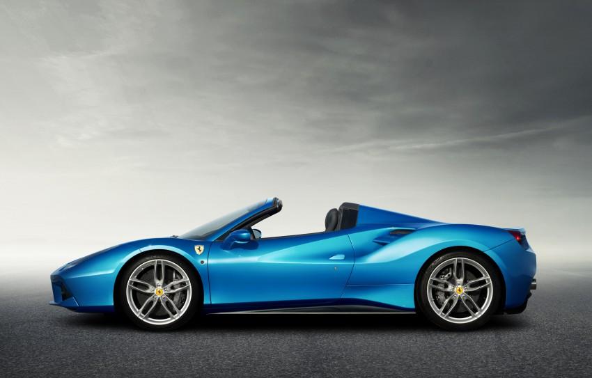 150728_The Ferrari 488 Spider_Side
