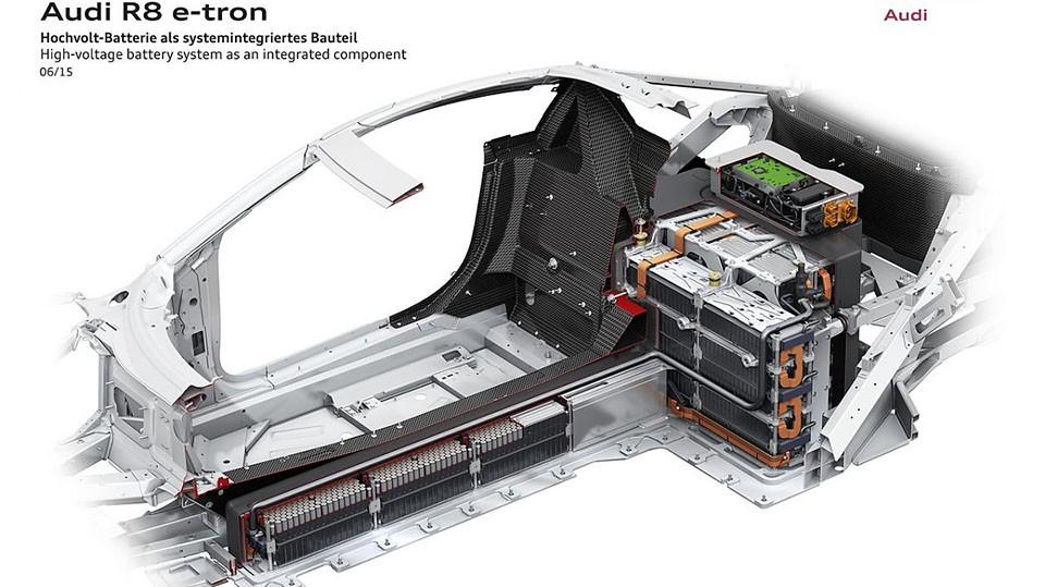 Audi R8 e-tron Technik 2