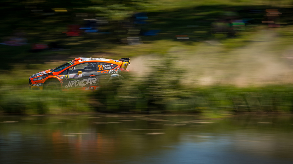 FIA World Rally Championship Poland - Day One