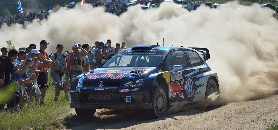 FIA World Rally Championship Poland - Day Two