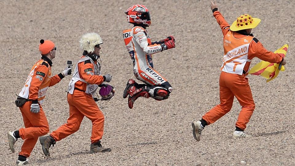 MotoGP-Weltmeister Marquez siegte auf Sachsenring souverän