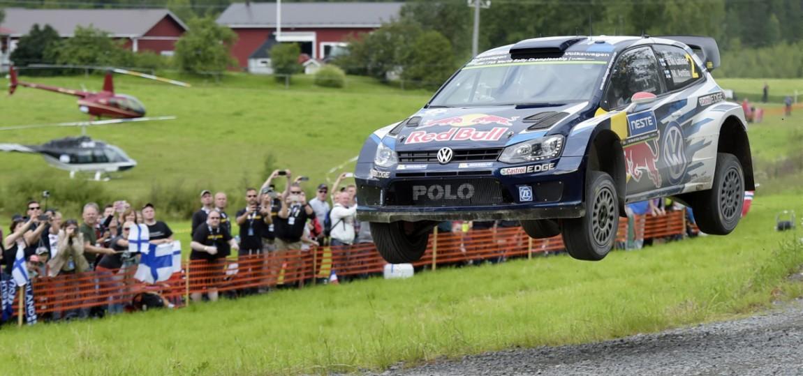 Das war der erste Tag der Finnland-Rallye