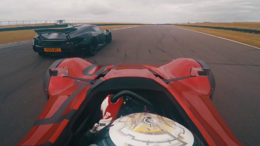 Haben 580 Kilogramm gegen einen McLaren P1 eine Chance?