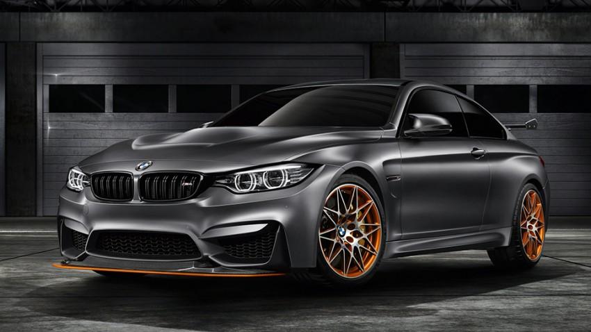 Höher, schneller, weiter: BMW M4 GTS Concept