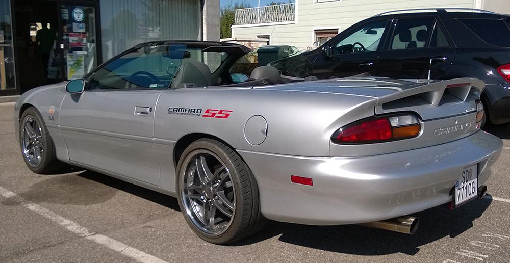 Chevrolet camaro ss cabrio 1998 zu verkaufen 4