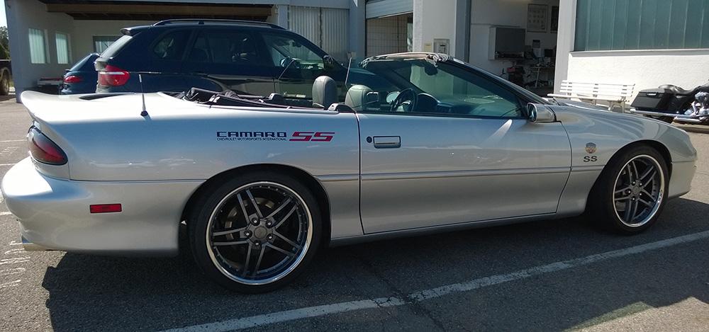 Chevrolet camaro ss cabrio 1998 zu verkaufen 5