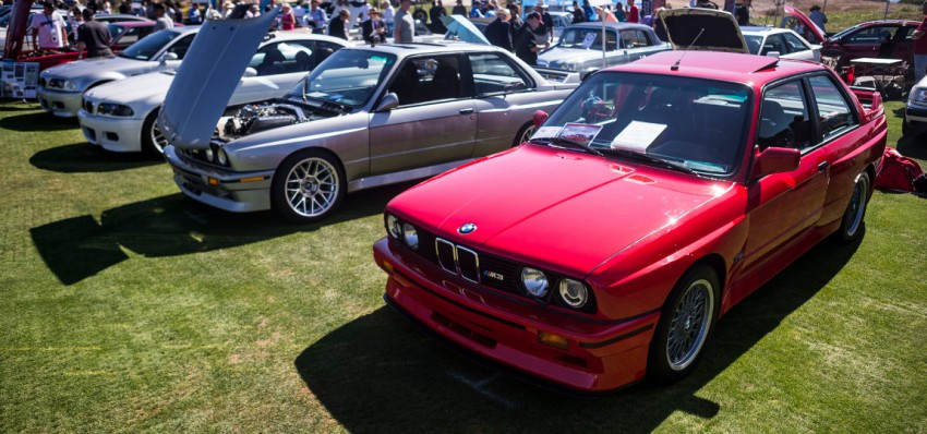 BMW North America at Legends of the Autobahn 2015.