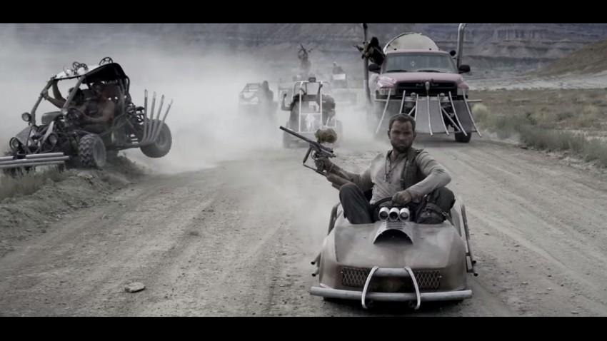 Mad Max mit Go Karts und Paintball