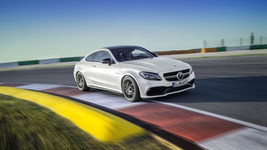Doppellösung: Mercedes AMG C 63 Coupé
