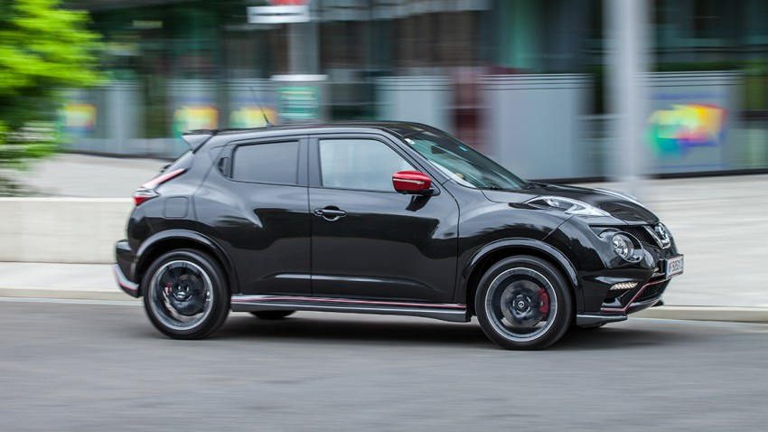 Nissan juke nismo rs for Nissan juke dauertest